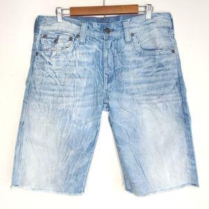 True Religion Relaxed Straight Shorts